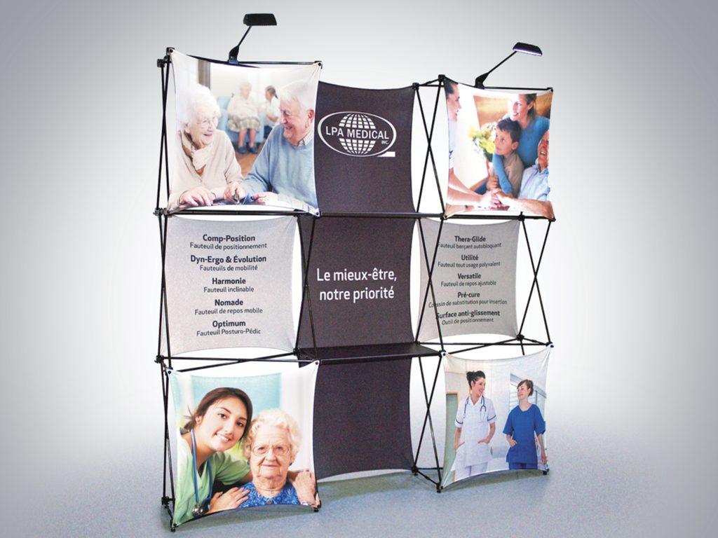 Kiosque d'exposition | LPA Médical