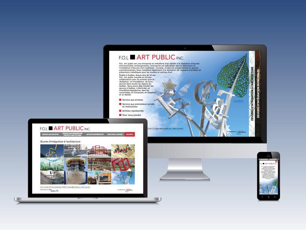 Site Web | Fol art public